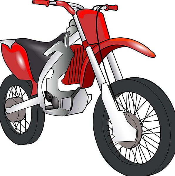 Moped Sulked Motorbike Motorcycle Bike Ride Trip T