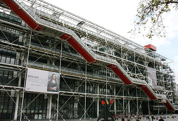 Pompidou Paris Modern Art France