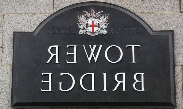London Shield Protection Tower Bridge Name Designa