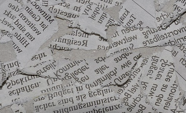 Newspaper Paper Textures Backgrounds Torn Undecide