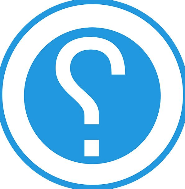 Question Spot Marks Scripts Mark Icon Blue Azure Q