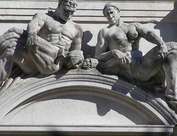 Bergamo Buildings Figurines Architecture Italy Sta
