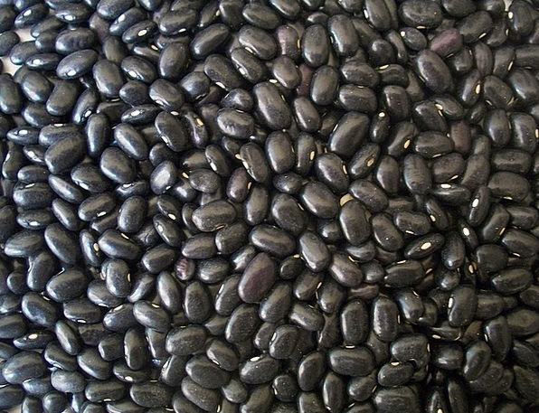 Black Beans Drink Food Dried Dehydrated Beans Food