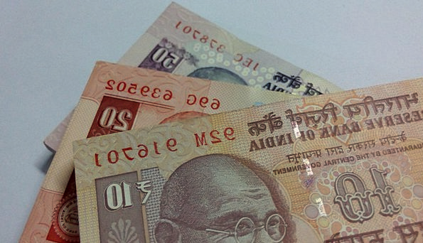 Indian Rupees Finance Business Note Letter Rupees