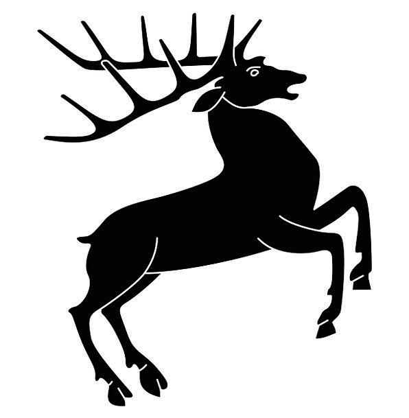 Stag Buck Lowly Hart Royal Deer Deer Rack Free Vec