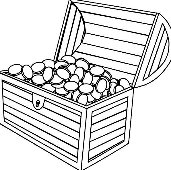 money box coloring pages - photo#17