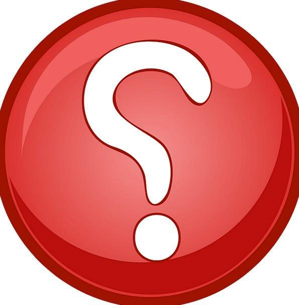 Question Finance Spot Business Button Key Mark Puz