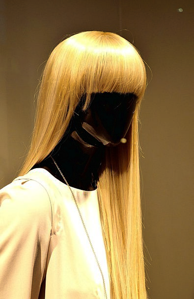 Woman Lady Fashion Statuette Beauty Black Dark Fig