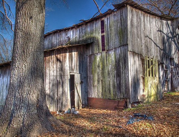Barn Outbuilding Timber Old Ancient Wood Farm Farm
