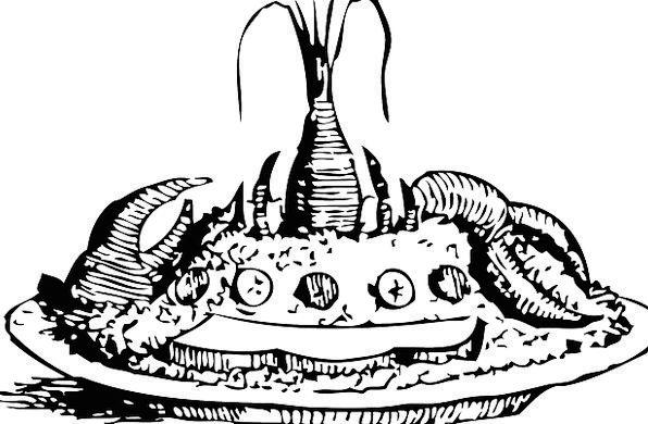 Seafood Dish Lobster Platter Crustacean Claw Talon