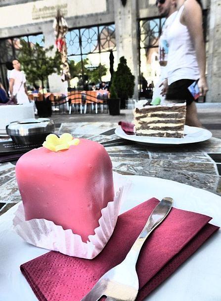 Punschkrapferl Dessert Pudding Pastry Shop Sweetne