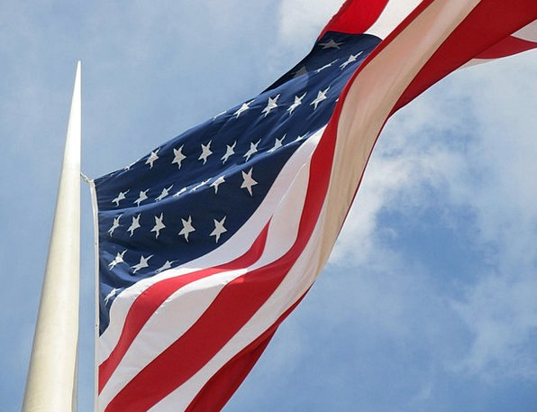 American Flag Loyalty United States Patriotism Blo