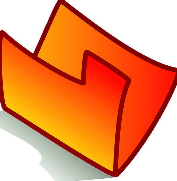 Folder Binder Carroty Theme Melody Orange Blank Ou