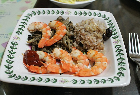 Shrimp Drink Culinary Food Fusion Cuisine Cooking