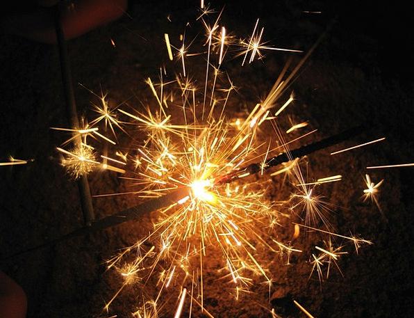 Sparkler Rocket Wireless Fire Passion Radio Spray