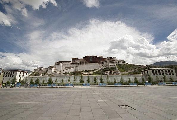 Temple Shrine Tibetan Tibet Travel Potala Palace P