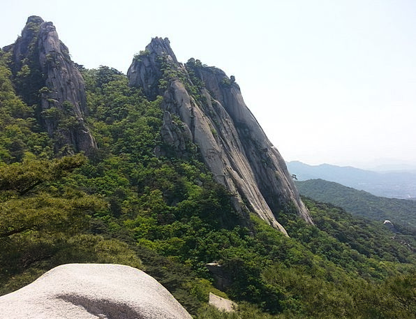 Dobong Uphill Peaks Mountains Climbing
