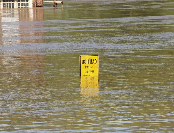 Flood Deluge Landscapes Nature River Stream Tennes