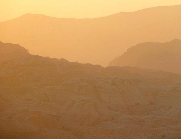 Petra Vacation Travel Holiday Break Jordan Sunset