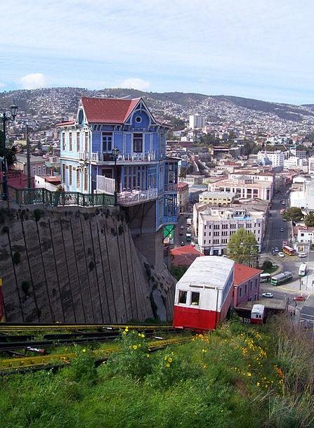 Funicular Chile Valparaiso