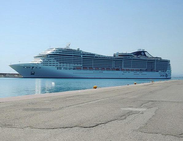 Greece Sea Marine Olympia Divina Cruise Voyage Doc