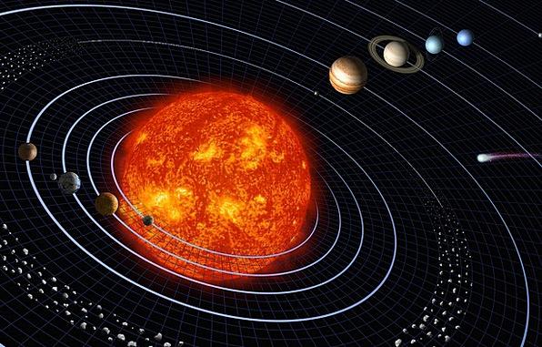 Solar System Space Planetary System Planet Jupiter