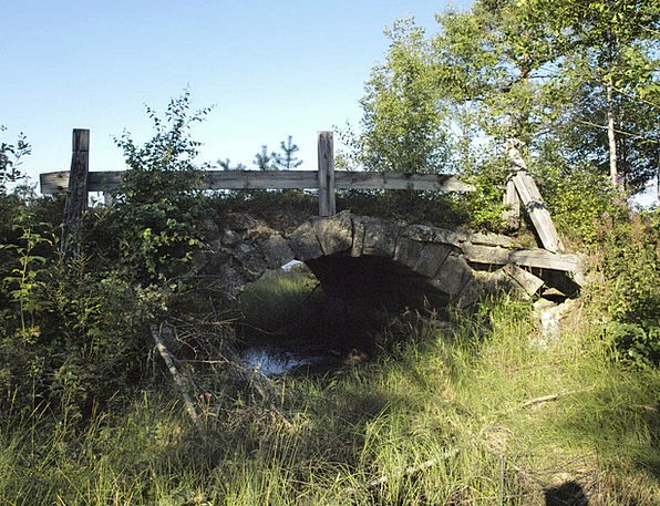 Bridge Bond Devastation Sweden Ruin