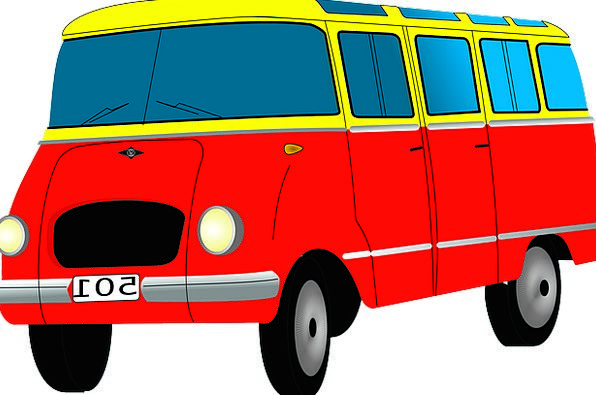 Bus Car Traffic Forefront Transportation Automobil