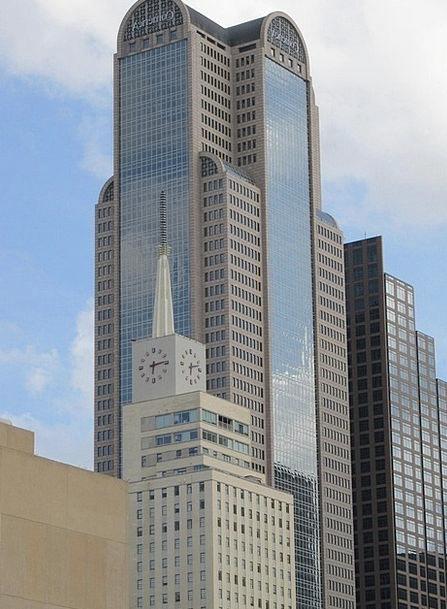 Dallas Skyline Buildings Architecture Buildings St