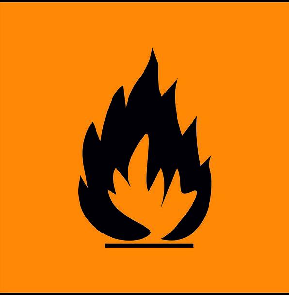 Warning Cautionary Medical Blaze Health Hazard Dan