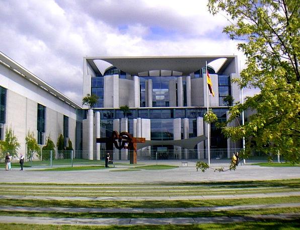 Federal Chancellery Buildings Building Architectur