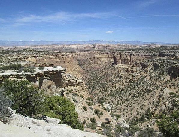 Ghost Rock Canyon Landscapes Nature Usa Utah Lands
