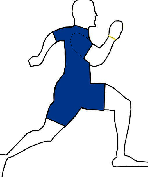 Man Gentleman Dash Run Track Sprint Running Consec