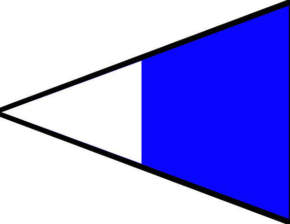Maritime Standard Second Repeater Flag Navigate Na