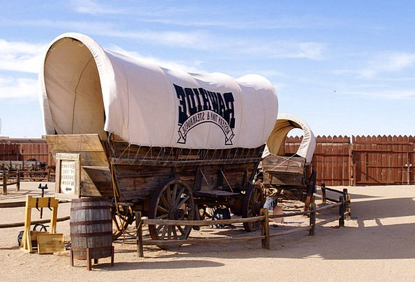 Wagon Carriage Traffic Enclosed Transportation Tra