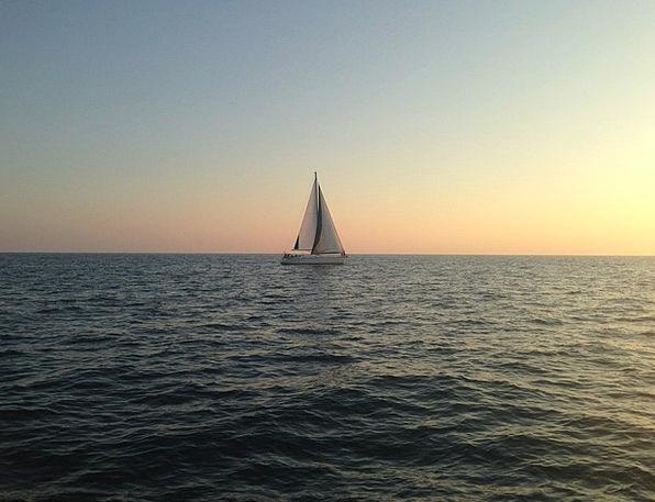 Sailboat Dinghy Vacation Travel Boat Sea Marine Wa