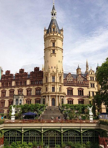 Castle Fortress Buildings Architecture Mecklenburg