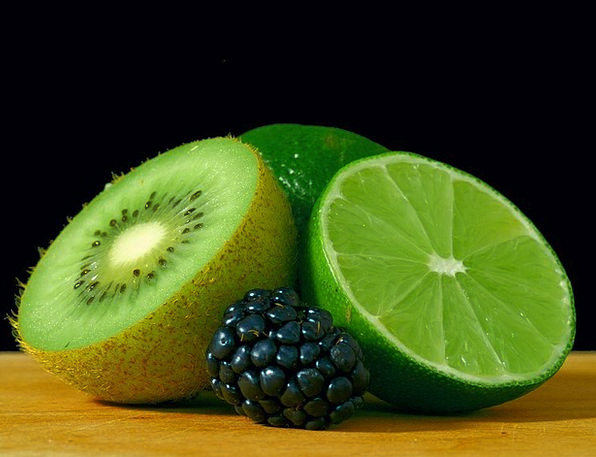 Kiwi Drink Food Lime Emerald Blackberry Healthy Gr