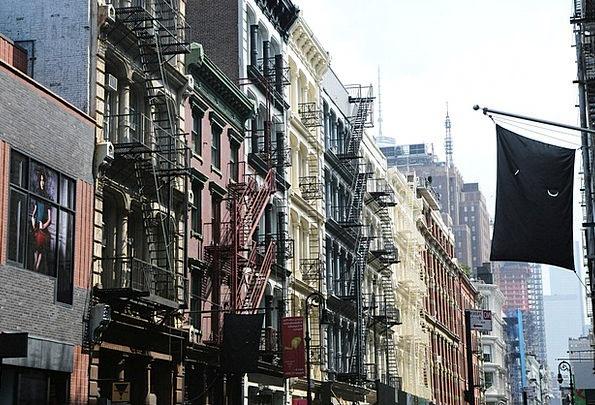 Metropolis City Buildings Architecture Apartments