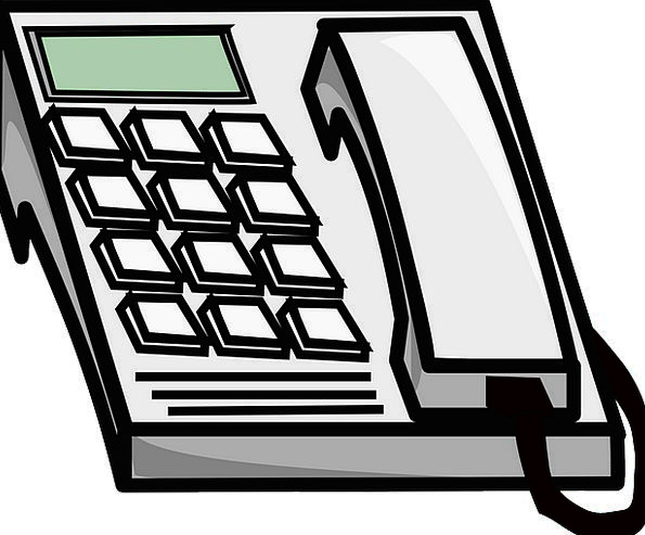 Telephone Phone Communication Message Computer Ele