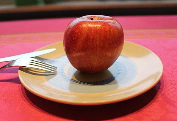 Apple Drink Ovary Food Red Bloodshot Fruit Vitamin