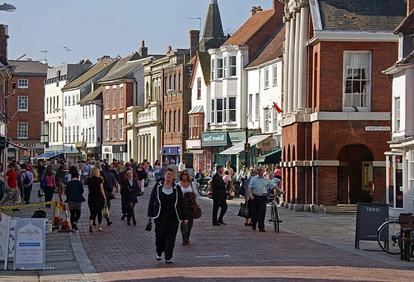 Chichester Buildings Architecture West Sussex City