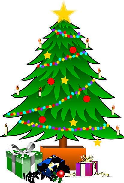 Christmas Sapling Star Interstellar Tree Bows Deco
