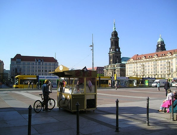 Dresden Buildings Urban Architecture Germany City