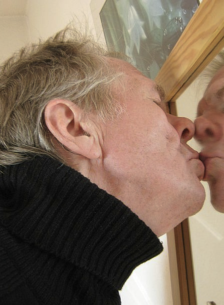 Self Love Gentleman Mirror Glass Man Identity Arch