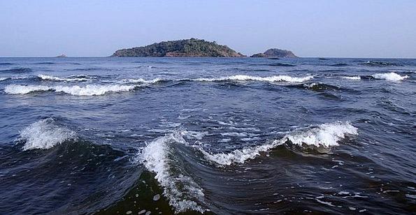 Kadam Islands Surfs Sea Marine Waves Indian Ocean