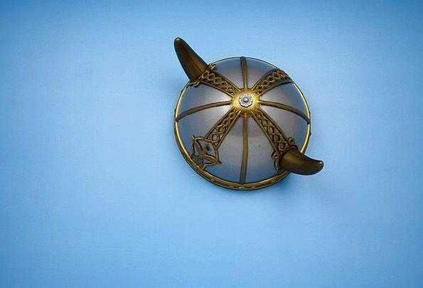 Helmet Hat Horns Sirens Viking Warrior Soldier Sca