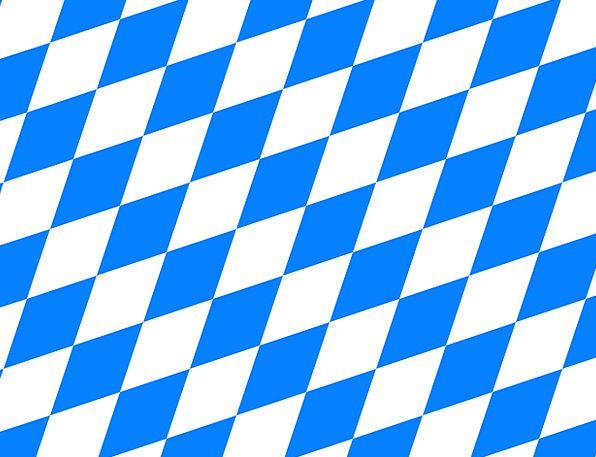 Bavaria Standard Variant Irregular Flag Symbols Ge