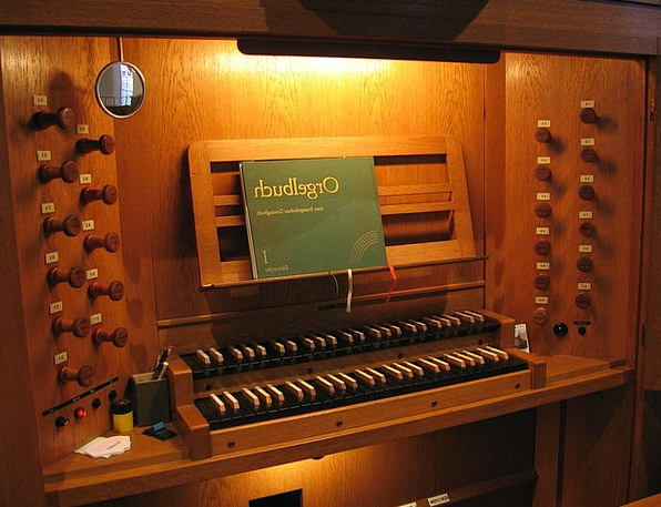 Church Ecclesiastical Structure Organ Bank Organ I