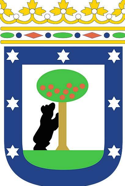 Coat Of Arms Crest Symbol Sign Madrid Emblem Spain